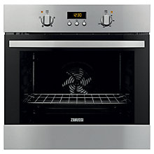 Buy Zanussi ZOB35301XK Single Oven, Stainless Steel Online at johnlewis.com