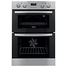Buy Zanussi ZOD35561XK Double Electric Oven, Stainless Steel Online at johnlewis.com