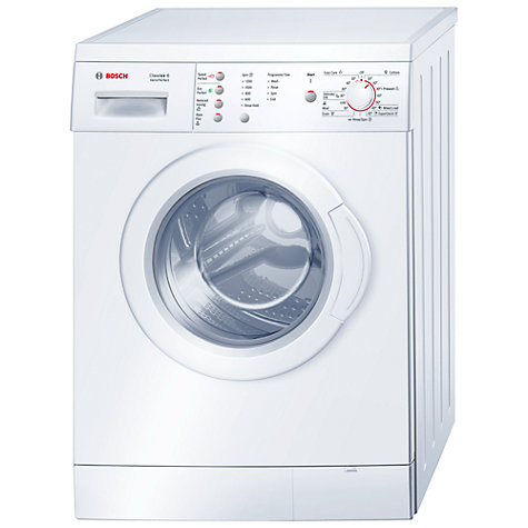 Buy Bosch Classixx WAE24166UK Washing Machine, 6kg Load, A+ Energy Rating, 1200rpm Spin, White Online at johnlewis.com