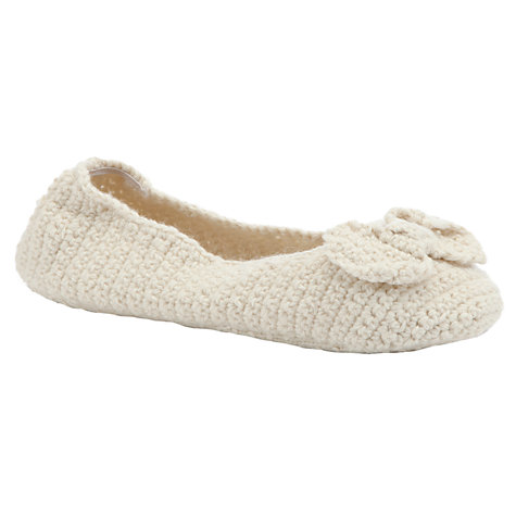 Buy John Lewis Knitted Slipper Socks Online at johnlewis.com