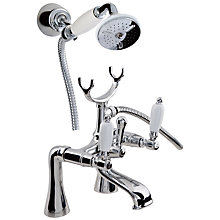 Buy John Lewis Marden Pillar Mounted Bath and Shower Mixer Tap Online at johnlewis.com