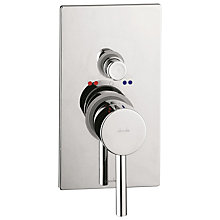 Buy Abode Euphoria Concealed Shower Mixer and Bath Filler with Diverter, H54mm Online at johnlewis.com