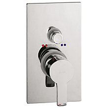 Buy Abode Euphoria Concealed Shower Mixer with Diverter, H66mm Online at johnlewis.com