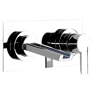 Abode Desire Wall Mounted Basin Control and Spout