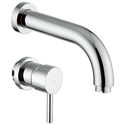 Abode Harmonie 2 Piece Wall Mounted Basin Filler
