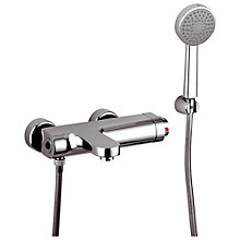 Buy Abode Rapture Wall Mounted Thermostatic Bath/ Shower Mixer with Kit Online at johnlewis.com