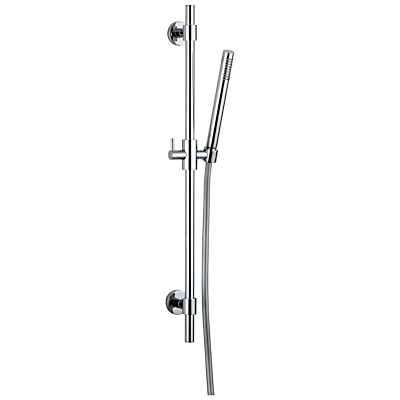 Abode Euphoria Square Rising Rail Shower Kit with Pencil Showerhead, H700mm