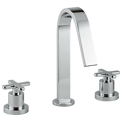 Abode Serenitie Three Piece Deck Mounted Basin Filler