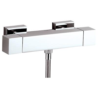 Abode Euphoria Low Pressure Square Thermostatic Bar Shower