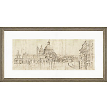 Buy Adelene Fletcher - Venetian Vista Framed Print, 100 x 50cm Online at johnlewis.com