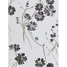 Buy Harlequin Floris Wallpaper, 30217, Slate Grey Online at johnlewis.com