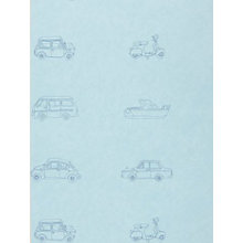 Buy Harlequin Go Go Retro Children's Wallpaper, 70505, Sailor Blue Online at johnlewis.com