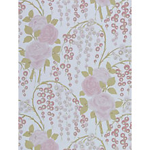 Buy Harlequin Iola Rose Wallpaper, 75024, Dusty Pink Online at johnlewis.com