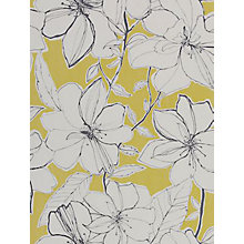 Buy Harlequin Spirit Wallpaper, 60126, Mustard Online at johnlewis.com