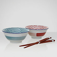 Buy John Lewis Orient Bowl and Chopsticks Online at johnlewis.com