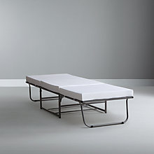 Buy Zig Zag Folding Guest Bed, Single Online at johnlewis.com