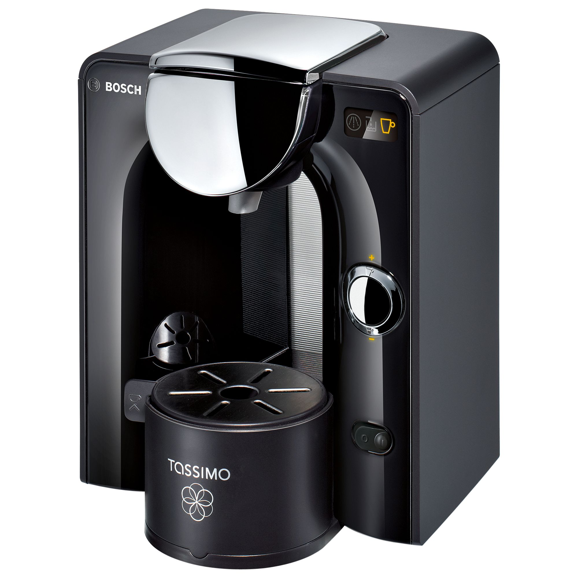 John Lewis Bosch Tassimo Coffee Maker : Buy Tassimo Charmy Coffee Machine by Bosch, Black John Lewis