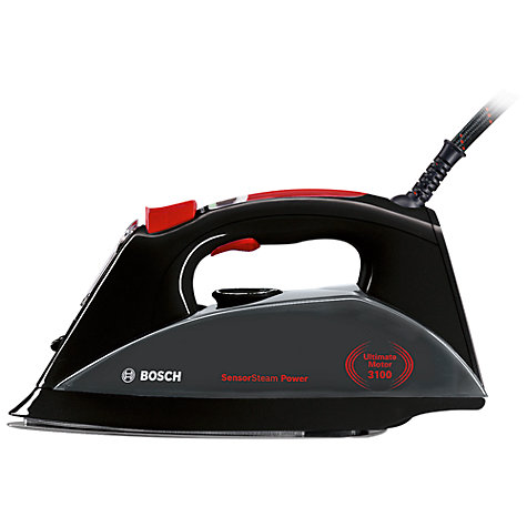 Buy Bosch TDS1220GB Power Steam Generator Iron, Black Online at johnlewis.com