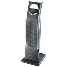 Buy Bionaire BCH9300-060 Digital Ceramic Tower Fan Heater, Silver Online at johnlewis.com