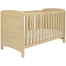 Buy John Lewis Toronto Cotbed, Ash Online at johnlewis.com