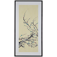 Buy Jane Dwight - Cherry Blossom Branch Framed Print, 101 x 50cm Online at johnlewis.com