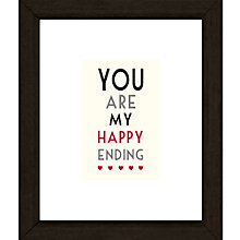 Buy East of India You Are My Framed Print, 27 x 23cm Online at johnlewis.com