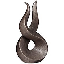 Buy Frith Sculpture Curve Bronze, by Adrian Tinsely Online at johnlewis.com