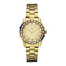 Buy Guess Girly B Diamond Set Bezel Bracelet Watch Online at johnlewis.com