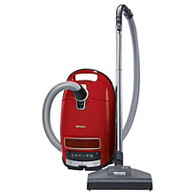Buy Miele S8320 Cat & Dog Premium Cylinder Vacuum Cleaner, Red Online at johnlewis.com