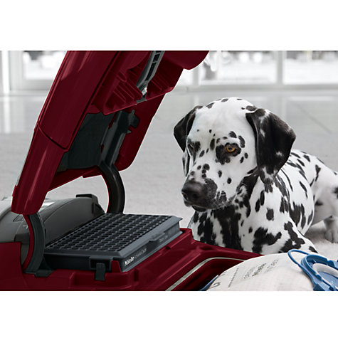 Buy Miele S8320 Cat & Dog Premium Cylinder Vacuum Cleaner, Mango Red Online at johnlewis.com