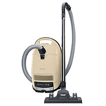 Buy Miele S8340 Ecoline Solution Cylinder Vacuum Cleaner, Ivory Cream Online at johnlewis.com