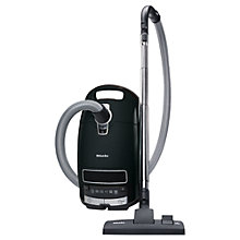 Buy Miele S8310 Power Plus Cylinder Vacuum Cleaner, Obsidian Black Online at johnlewis.com