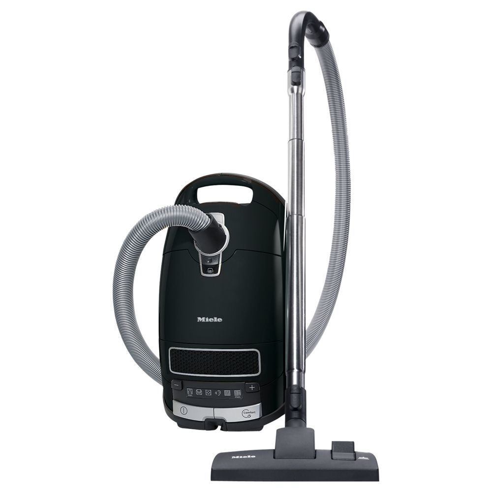 Miele S8310 Power Plus Cylinder Vacuum Cleaner, Obsidian Black