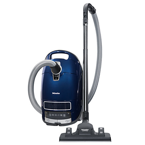 Buy Miele S8390 Silence Solution Cylinder Vacuum Cleaner, Deep Sea Blue Online at johnlewis.com