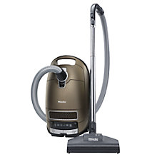 Buy Miele S8330 Solution HEPA Cylinder Vacuum Cleaner, Bronze Pearl Metallic Online at johnlewis.com