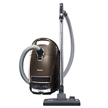 Buy Miele Uniq S8530 Cylinder Vacuum Cleaner, Mahogany Brown Online at johnlewis.com