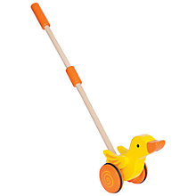 Buy Hape Duck Push and Pull Toy Online at johnlewis.com