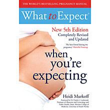 Buy What To Expect When Your Expecting Book Online at johnlewis.com