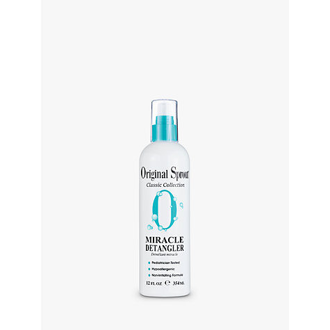 Buy Little Sprout Miracle Baby Detangler Spray, 354ml Online at johnlewis.com