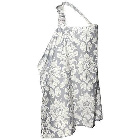 Buy Bebe Au Lait Breastfeeding Cover, Chateau Silver Online at johnlewis.com