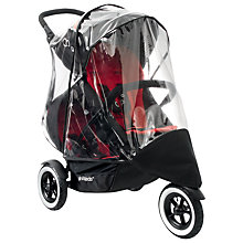 Buy Phil & Teds Dot Pushchair Storm Cover, Double Online at johnlewis.com