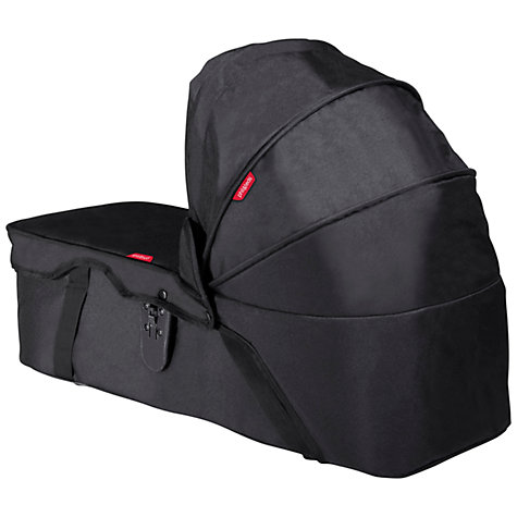 Buy Phil & Teds Dot/Navigator Snug Carrycot, Black Online at johnlewis.com
