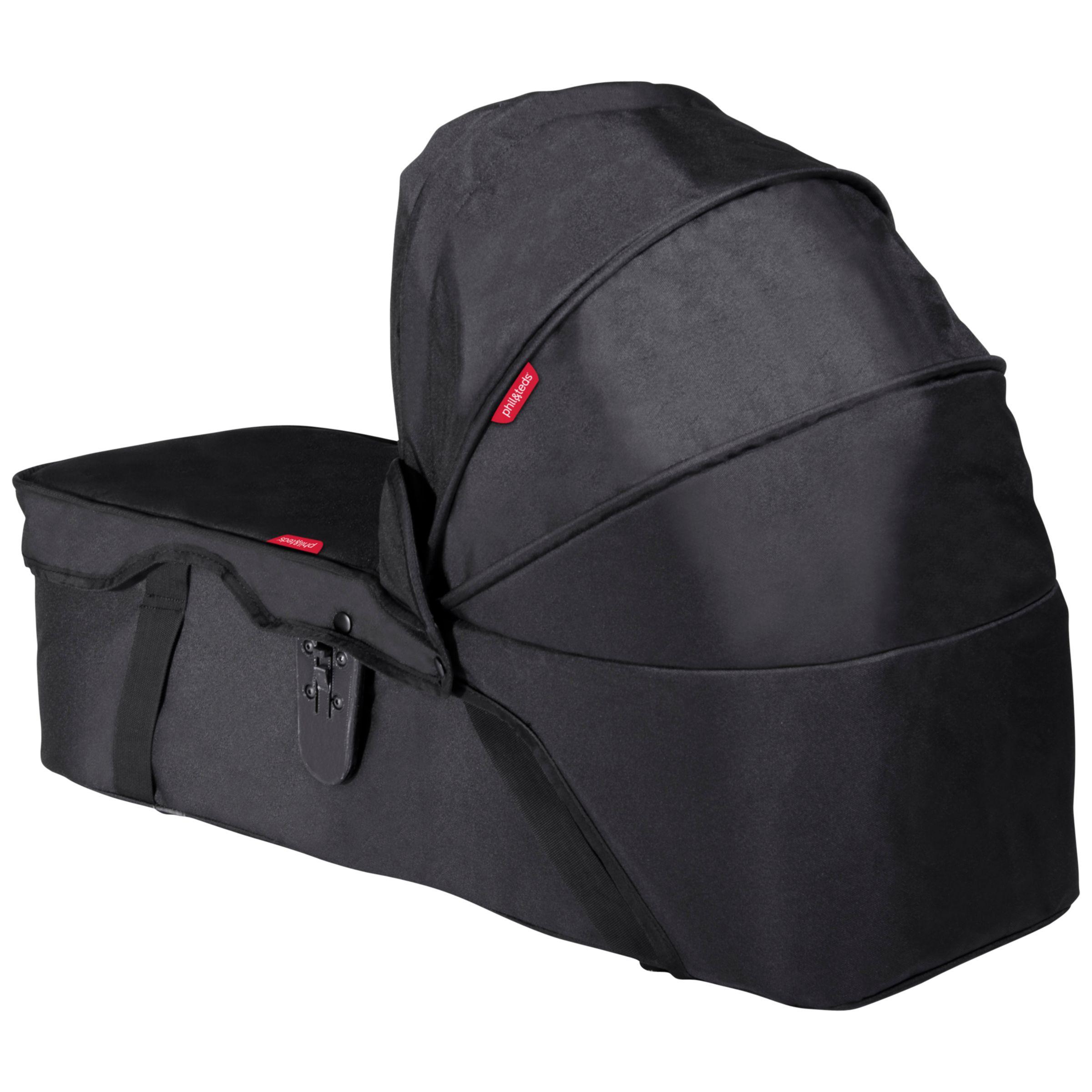 Phil & Teds Phil & Teds Dot/Sport Snug Carrycot, Black