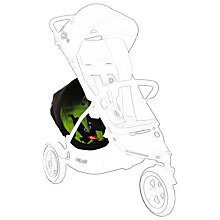 Buy Phil & Teds Dot Pushchair Double Kit, Apple Online at johnlewis.com