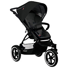 Buy Phil & Teds Navigator Pushchair, Black Online at johnlewis.com