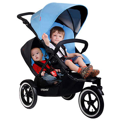 Buy Phil & Teds Navigator Double Kit, Sky Online at johnlewis.com