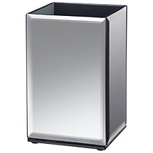 Buy John Lewis Mirrored Brush Holder, Smoke, H12cm Online at johnlewis.com