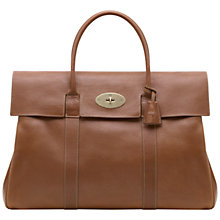 Buy Mulberry Piccadilly Leather Holdall Online at johnlewis.com