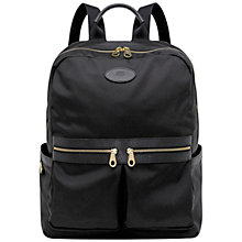 Buy Mulberry Henry Backpack, Black Online at johnlewis.com