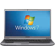 "Buy Samsung NP700Z5C-A01 Laptop, Intel i5, 2.6GHz, 8GB RAM, 1TB+8GB SSD with 15.6"" Display, Silver Online at johnlewis.com"